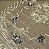 Brillant Teppich Teppich 195 x 300 cm Eckig Rutschfest Pflegeleicht Top Qualität Garden 803
