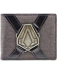 Cartera de Ubisoft Assassins Creed Syndicate Silver Symbol Gris