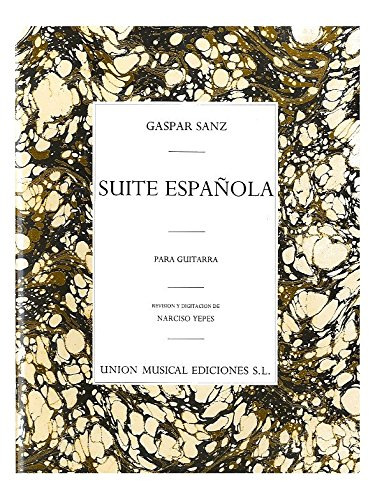 Gaspar Sanz: Suite Espanola. Partitions ...