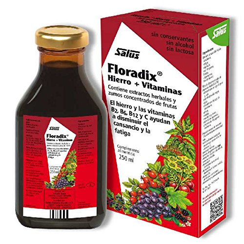 Floradix Hierro 500 ml de Salus