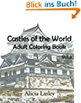 Castles of the World : Adult Coloring...