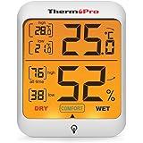 ThermoPro TP53 digitales Thermo-Hygrometer Thermometer Hygrometer Raumluftüberwachtung Temperatur und…