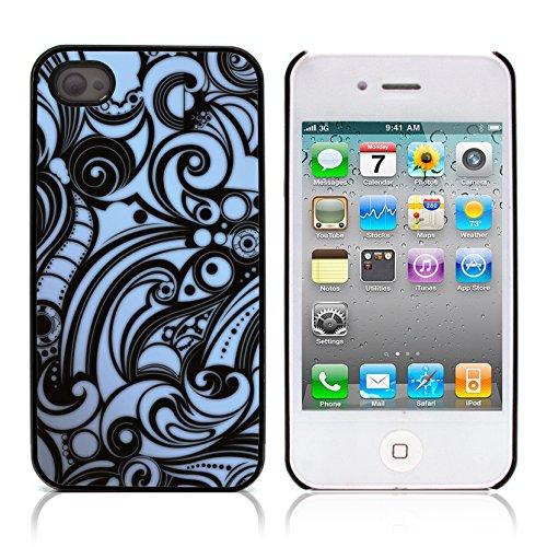Graphic4You Grün Muster Harte Hülle Case Tasche Schutzhülle für APPLE IPHONE 4 und 4S Design #12