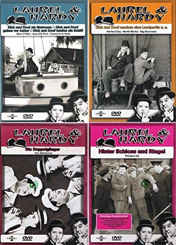 Collection 4: Als Matrosen/Die Doppelgänger/Machen eine Landpartie/Hinter Schloss und Riegel (4 DVDs)