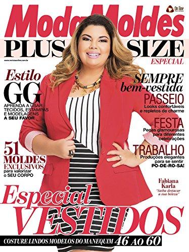 Moda Moldes Plus Size - Especial Ed.01 (Portuguese Edition) de [On