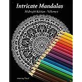 Intricate Mandalas, Midnight Edition