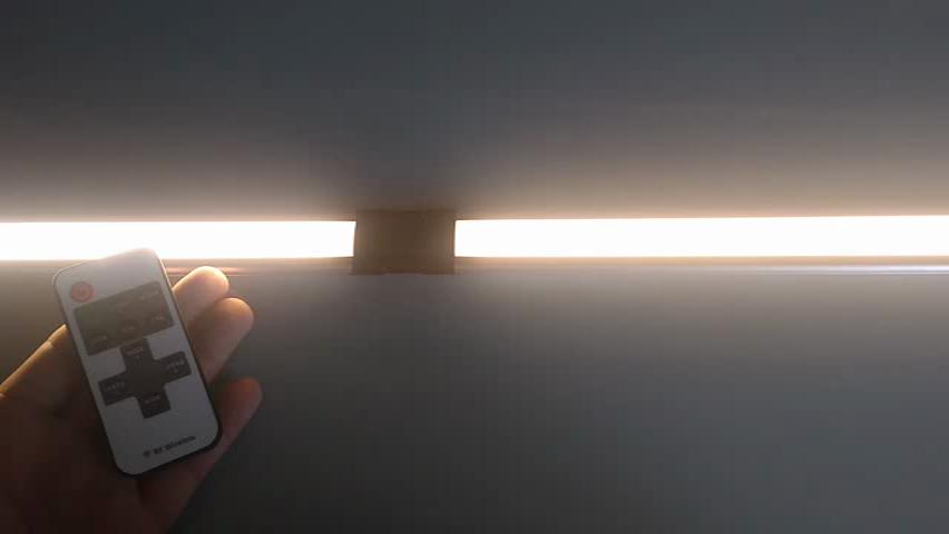 ANSCHE luces para armarios, regulable luces bajo mueble cocina 1100LM, iluminación led para armarios con control remoto, encimera luces barra, 30CM, CRI90+, ...