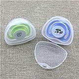 SELIFY 4 Stück Schnullerbox für Schnuller Baby Neugeborene Reise (Transparent)