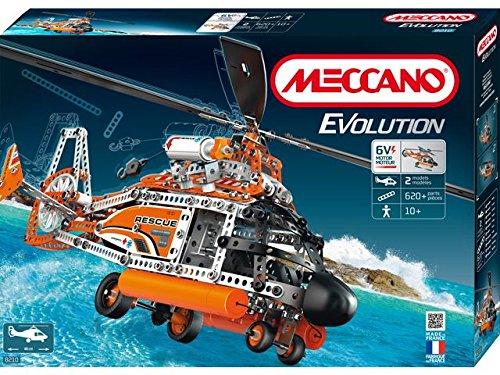 Meccano-868210-Juego-de-construccin-helicptero-Evolution