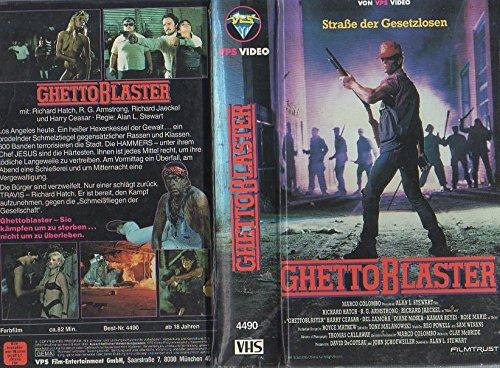 Ghetto Blaster (FSK 18. Das Video war indiziert. Die Indizierung wurde im September 2014 wegen Zeitablaufs aufgehoben.(Quelle: OFDb.de))