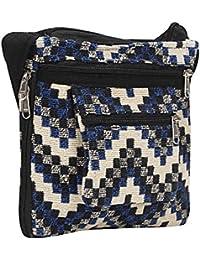 Sizzling Cross Body Bag, Shoulder Bag And Sling Bag For Women & Girls (Blue & Dusty Color) By Suman Enterprises