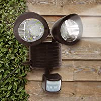 22 Led Solar Powered Rechargeable Pir Motion Sensor Security Light from Solalite