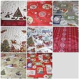 Good For You Weihnachten Thema abwischbare PVC-Tischdecke, Vinyl, Küche Tisch, PVC/Vinyl, 140 x 280 cm