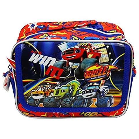 Blaze and the Monster Machines Pochette Maquillage Make-Up Beauty Vanity (Scuola Velcro)
