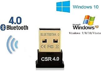 Famous Quality Bluetooth CSR 4.0 USB Dongle Adapter, Windows XP 7/8/10, Data 150 Mbps, 33 FT Range