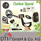 Garrett ACE 250 Metalldetektor Outdoorpack mit Garrett Pro Pointer