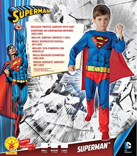 Imagen de warner  i 610780s  disfraz para niños  classic superman comic book  tamaño s alternativa