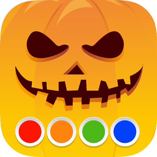 Malbuch - Halloween
