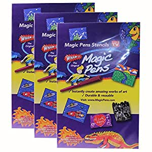 WHAM-O The Original Magic Pens Stencils