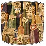 8pulgadas techo Vintage y Retro cerveza y botella de vino copas tulipa de lámpara 12, 30,5 cm