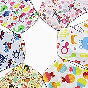 Emily Reusable Women Bamboo Charcoal Cloth Washable Menstrual Pad Leak-Proof Night Sleep Sanitary Napkin Nappy Towel Pad random