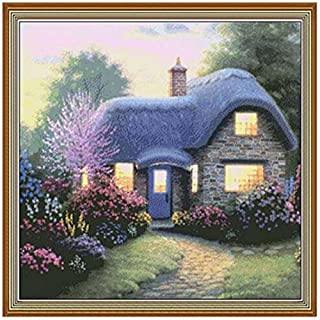 Highlight Diamond Needlework Diy Diamond Full Area Painting Kit Diamond Cross Stitch Plants Embroidery E by ASTrade