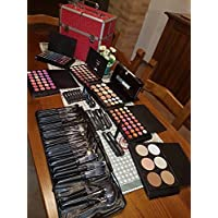 Blush Italia Make Up - Kit profesional completo con paleta y brochas de maquillaje