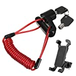 Sumeier Anti-Theft Disc Brake Lock Anti-theft Steel Wire Lock For Xiaomi Mi Mijia M365 Electric Scooter Replacement...
