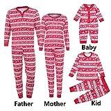 Christmas Set Famiglia Vestiti,Kword Uomini Donne Bambini Bambino Neonato Cervi T Camicia Cime Camicetta Pantaloni Pigiami Natale Set Famiglia Abbigliamento Bambino Tuta