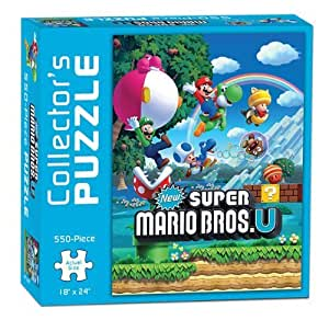 Super Mario Bros. U Collector's Jigsaw Puzzle by USAopoly TOY (English Manual)