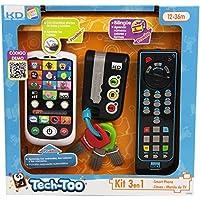 Cefa Toys Kit telefono,llaves y mando a distancia para niños ( 00425)