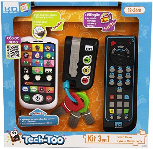 Cefa Toys Set di telefono, chiavi e telecomando,...