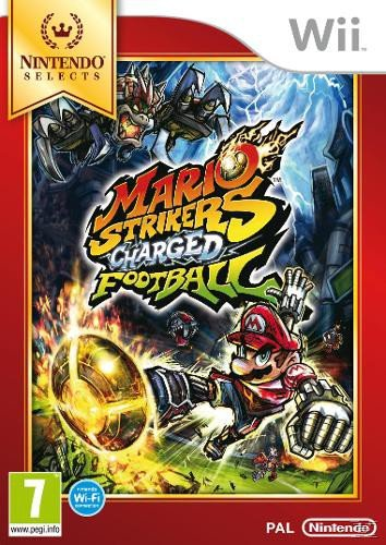 Mario Strikers Wii SELECTS AT Charged Football