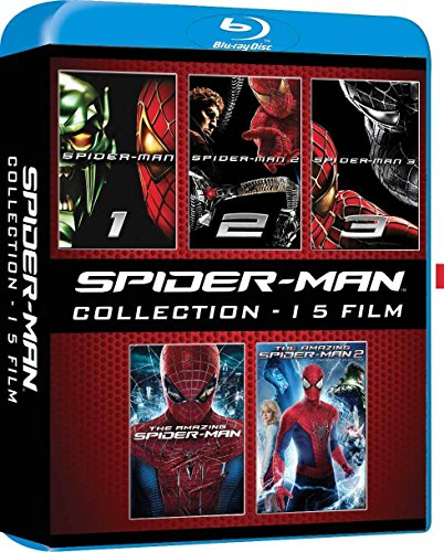 spider-man-collection-5-blu-ray-import-anglais