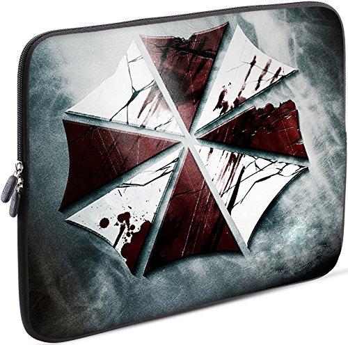 Sidorenko Tablet PC Tasche für 10-10.1 Zoll | Universal Tablet Schutzhülle | Hülle Sleeve Case Etui aus Neopren, Grau