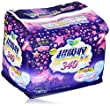 LAURIER Kao Speed Plus Super Guard Night Sanitary Napkin with Wings, 7 Count