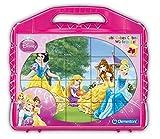 Clementoni 42424.5 - Würfelpuzzle Prinzessin, 24-er Set