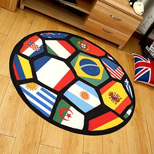 Circolare tavolino salotto camera da letto den tappeto/ tappeto moda creativa-A (Tappeti America Del Blocco)