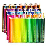 Crayons d'aquarelle colorés Welltop 150 - Crayons colorés solubles dans l'eau pour les étudiants en art Coloriage Livres Dessin Écriture Dessin Doodling, meilleur pour les enfants et les adultes