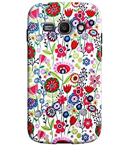 Blue Throat Printed Designer Back Cover For Samsung Galaxy Ace 3