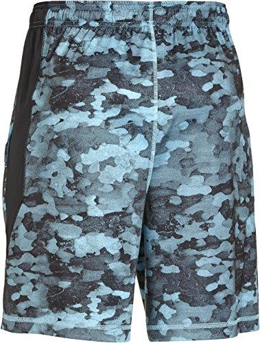 Under Armour Shorts Raid 8 Printed Herren Fitness - Hosen & Shorts Island Blue