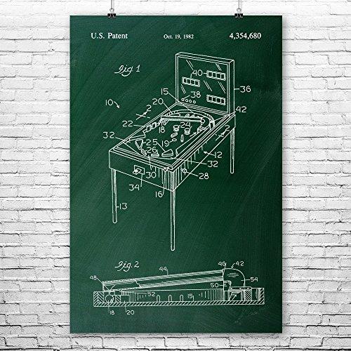 Bally Xenon Pinball Tubeshot Poster Druck, Pinball Arcade, Gamer Geschenk, Pinball Parts, Vintage Spiele, Old School Gamer 8