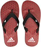 Adidas Boy's Beach Print Max Out Scarle/Black/White Flip-Flops and House Slippers - 3 UK/India (35 EU)