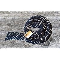 Bettschlange, Dunkelblau mit Sternen, 180cm/210cm/250cm, Handmade, Baby Nestchen