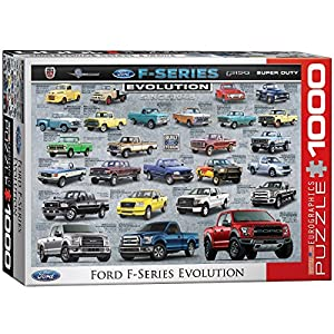 Eurographics 6000-0950 - Puzzle para Ford Serie F