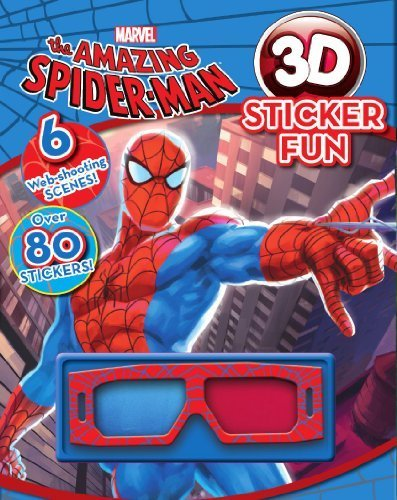 The Amazing Spider Man: 3D Sticker Fun! (Marvel 3d Sticker Fun) by Parragon Books (2012) Paperback