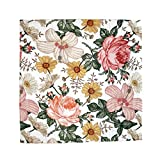 The Mini Scout Muslin Swaddle Blanket - Baby Girl Swaddle Blanket (Floral Baby Blanket)