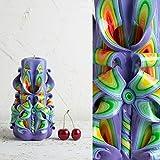 Einzigartige Kerzen - geschnitzte Kerze - Kerzen-shop - Geschenk für Einweihung, Bougies, handgemachte EveCandles