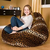 #10: Aart Cheetah Pattern Bean Bag With Beans (Xxl)