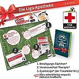 ZÄPFCHEN Geschenk-Set: 2 - Die Liga-Apotheke für FC Köln-Fans | Für Fans von 1. FC Köln Trikots, Home Away Stutzen Shorts Hoodie